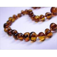 Buy cheap Amber for Teething Cognac and Honey Amber Baby Necklace - Rounded from wholesalers
