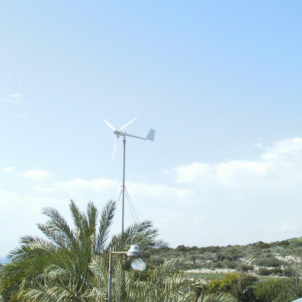 Wholesale Small Wind Turbine residential wind turbine X2000 from china suppliers