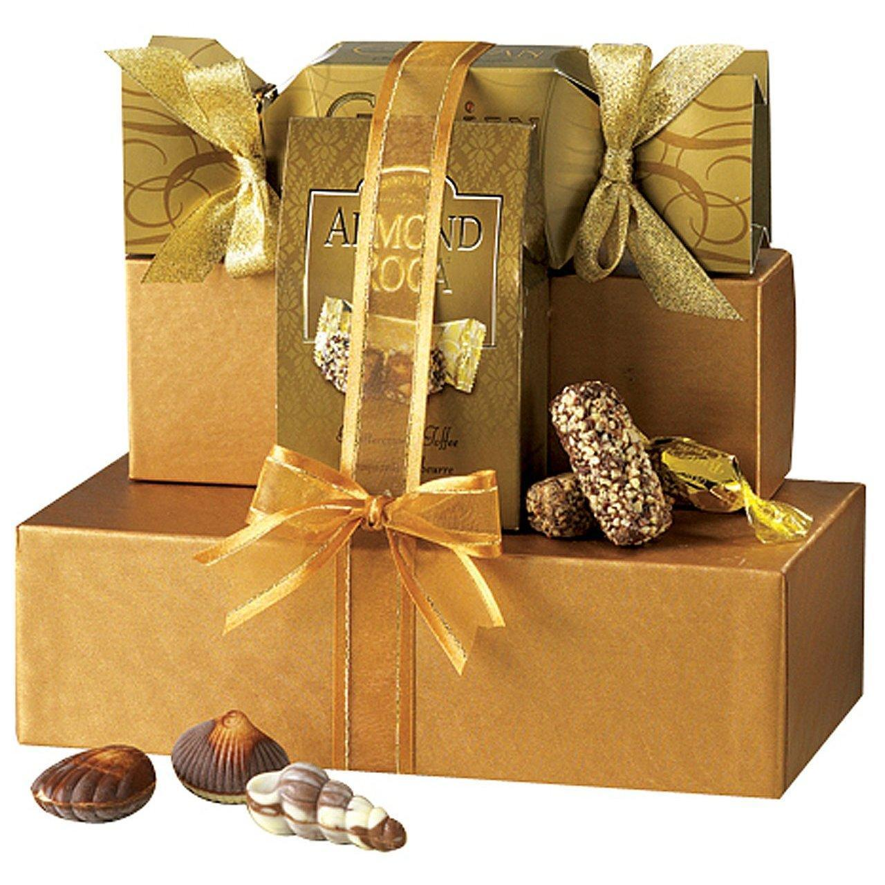 Buy cheap Broadway Basketeers Chocolate Heaven Gourmet Chocolate Gift Tower from wholesalers