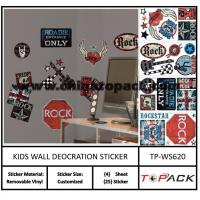 Buy cheap Sticker Series Product Name:Fixpix sunboy wall stickers kids TP-WS620 from wholesalers
