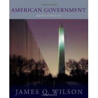 Buy cheap American Government Brief Version from Wadsworth Publishing from wholesalers