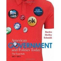 Buy cheap American Government And Politics Today Essentials 2011 - 2012 Edition by Wadsworth Publishing from wholesalers