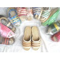Buy cheap Christmas Crafts Product name:Children's Straw Slippers from wholesalers