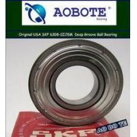 Buy cheap SKF 6308-2ZJEM Deep Groove Ball Bearing 2Z with ABEC-5 Double Direction from wholesalers