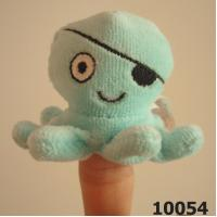 Buy cheap PLUSH & STUFFED TOYS plush and stuffed Finger Puppet,Pirate Octopus -10054 from wholesalers