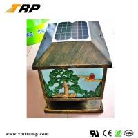 Buy cheap solar lawn light Newest outdoor classical solar table lamp from wholesalers
