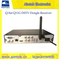 Buy cheap Q-SAT Q11G Africa GPRS Decoder with sim card slot for Africa from wholesalers