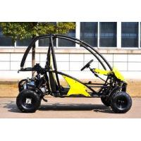 Wholesale 4 Wheels Gas Electric CVT Go Kart For Farm , Go Kart Kits KD 110GKTA from china suppliers