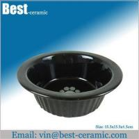 Wholesale Ceramic pet bowl large ceramic dog food feeder from china suppliers
