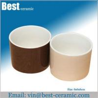Buy cheap Ceramic mug couple ceramic egg cups from wholesalers