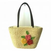 Wholesale Corn husk straw bag 2014 New Style Corn Husk Bag from china suppliers