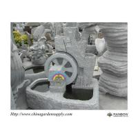 Wholesale Water Garden Granite Wheel Water Feature from china suppliers