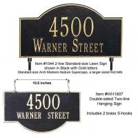 Buy cheap Two-sided Arch Marker Address Plaque from wholesalers