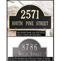 Buy cheap Arch Marker Address Plaque from wholesalers