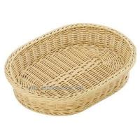 Buy cheap pp rattan oval tray from wholesalers