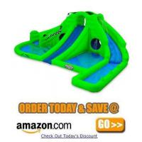 Buy cheap Blast Zone Ultra Croc Huge Inflatable Water Park from wholesalers