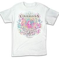 Buy cheap Christian Apparel ADULT T - COURAGEOUS WOMAN from wholesalers