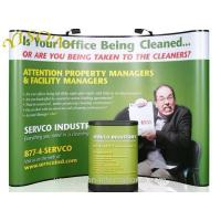 Buy cheap Curved pop up banner stand from wholesalers