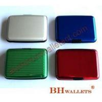 Buy cheap Hard Shell Card Case Aluminum Wallet from wholesalers