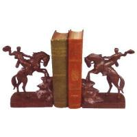 Buy cheap Animal Bookends Wild Cowboy And Horse Bookends from wholesalers
