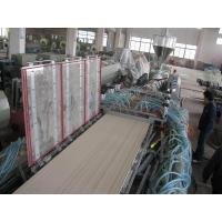Buy cheap Plastic Profile Extrusion Line Products PVC Wood Plastic Composite(WPC) Door Panel Extrusion Line from wholesalers