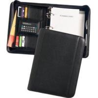 Buy cheap Black Topgrain Leather Zippered 3-Ring Organizer Planner Item # LVD 548-6 from wholesalers