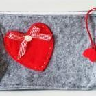 Buy cheap Travel accessories Felt make-up pouch from wholesalers