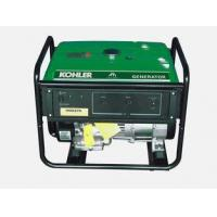 Buy cheap Recoil Portable Kohler Gasoline Generator,2.5KW Single Phase,Powered by KOHLER from wholesalers