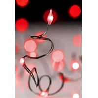 Buy cheap Battery Operated Christmas Light Set 30 Red LED Bulbs - Timer from wholesalers