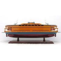Buy cheap Staten Island Car Ferry Boat Wooden Model Ship 24 Built from wholesalers