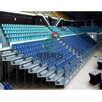 Buy cheap TELESCOPIC BLEACHERS Name:ELEC RETRACTABLE-REAR SEATED from wholesalers