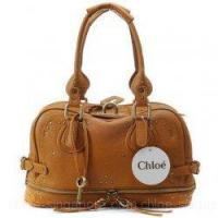Buy cheap Chloe Singapore East/West Paddington Leather Zipper Satchel Brown from wholesalers