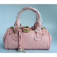 Buy cheap Chloe Singapore Paddington Calf Leather Satchel Bag Pink from wholesalers