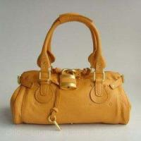 Buy cheap Chloe Singapore Paddington Calf Leather Satchel Bag Yellow from wholesalers