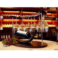 Buy cheap 6 wooden wine racks installed from wholesalers