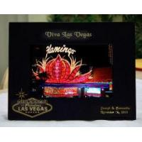 Buy cheap PERSONALIZED LASER ENGRAVED LAS VEGAS SIGN WOOD PICTURE FRAMES from wholesalers