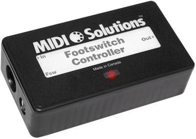Quality MIDI Solutions Footswitch Controller for sale