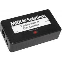 Buy cheap MIDI Solutions Footswitch Controller from wholesalers