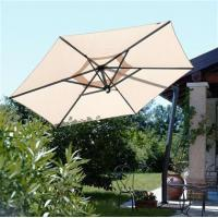 Buy cheap Cantilevered Graphite Frame Patio Umbrella from wholesalers