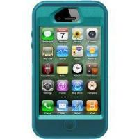 Buy cheap OtterBox Defender Series Case and Holster for iPhone 4/4S - Retail Packaging - Teal/Blue from wholesalers