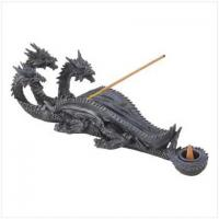 Buy cheap CANDLES AND SCENTS TRIPLE-HEAD DRAGON INCENSE BURNER[13830] from wholesalers