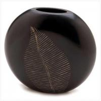 Buy cheap FOR THE HOME-> Artisan Leaf Vase[12053] from wholesalers