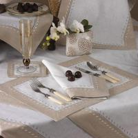 Wholesale Placemats Hand Embroidered Two Tone Placemats from china suppliers
