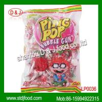 Buy cheap PING POP assorted bubble gum lollypop from wholesalers