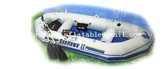 Quality water sport products pvc pro mariner 3 person inflatable boat with engine for sale for sale