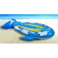 Buy cheap water sport products recreation friendly inflatable shark rider product