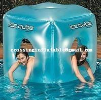 Buy cheap water sport products inflatable ice cube toy for kids product