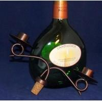 Buy cheap Candle Holders Iron Wine Bottle Topper 2 Taper Candle Holder (4334) from wholesalers