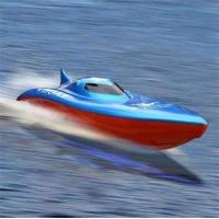 Buy cheap Radio Controlled Boats RC Killer Whale Electric Dual Motor Speed Boat (B18) from wholesalers