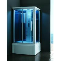 Buy cheap 8020L Single corner steam shower room with tub from wholesalers